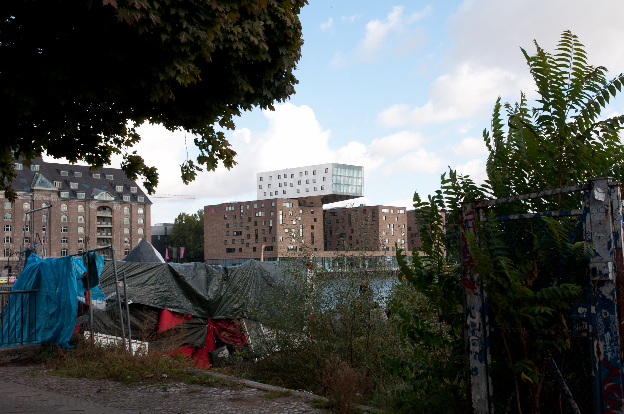 Informal housing @ Berlin